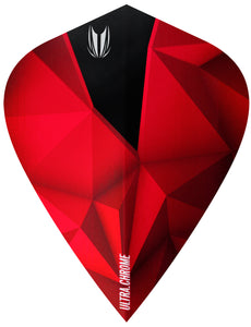Target Shard Ultra Chrome Crimson Kite Dart Flights