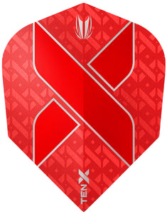 Target Ten-X Vision Ultra Red Dart Flights