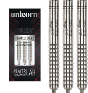 Unicorn Gary Anderson Darts - The Flying Scotsman - 90% Tungsten - Purist - Phase 1 - 22g 24g 26g