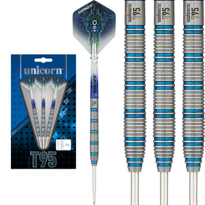 Unicorn Darts - T95 - Core XL - Type 1 - Blue - 95% Tungsten Darts - 20g 22g 24g
