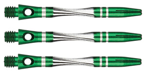 Unicorn Ali Twist Dart Shafts - Green