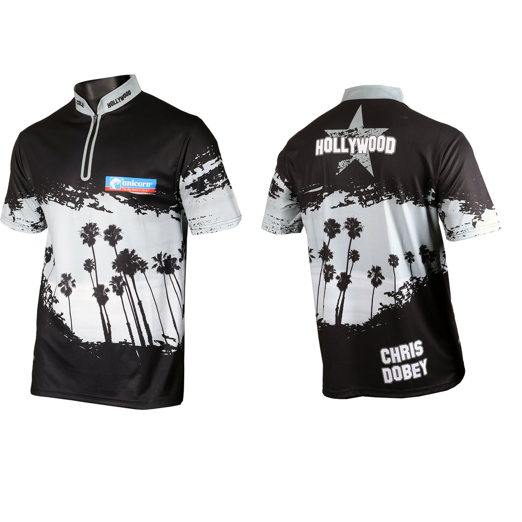 Unicorn Authentic - Official  - Chris Hollywood Dobey - Dart Shirt - 2019