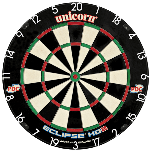 Unicorn Eclipse HD2 Pro Edition PDC Dartboard - Unilock System