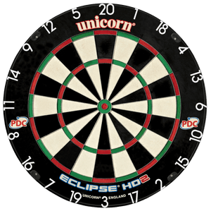 Unicorn Eclipse HD 2 Pro Dartboard - Professional - with UniLock - PDC Circuit - HD2 Pro Edition