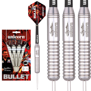 Unicorn Gary Anderson Bullet Durable Stainless Steel Darts - 21g 23g 25g