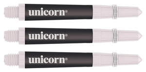 Unicorn Gripper Softflex Dart Shafts - Black / White