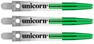 Unicorn Gripper Zero Degrees Dart Shafts - Green
