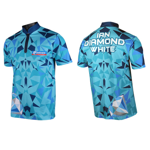 Unicorn Authentic - Official  - Ian Diamond White - Dart Shirt - 2019