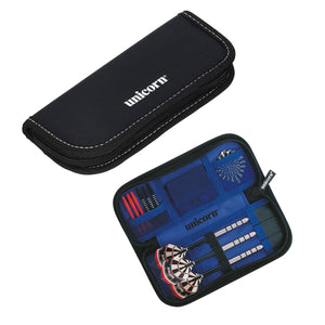 Unicorn Midi Wallet - Dart Case - Compact and Secure - Black