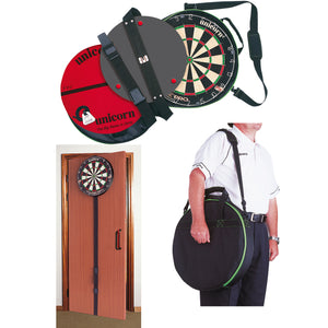 Unicorn On Tour - Portable Dartboard System - Includes Eclipse Pro Dartboard