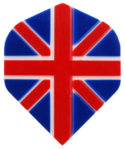 Winmau Transparent Union Jack Flights