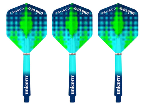 Unicorn Cosmos - Meteor - Combo Pack - Gripper 3 - Flights & Shafts