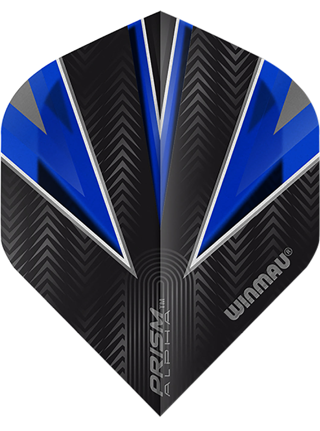 Winmau Prism Alpha Standard Shape Dart Flights - Blue