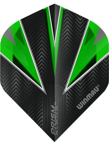 Winmau Prism Alpha Standard Shape Dart Flights - Green