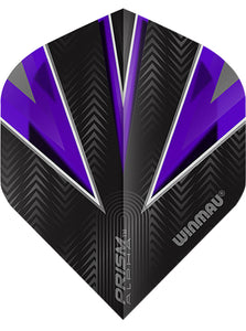 Winmau Prism Alpha Standard Shape Dart Flights - Purple