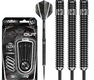 Winmau Blackout - 90% Tungsten Darts - 22g 24g 26g 28g