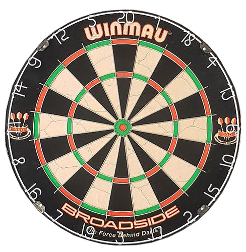 Winmau Broadside Dartboard - Quality - Steel Tip