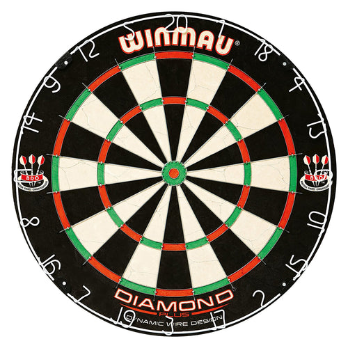 Winmau Dartboard - Diamond Plus - Angle Wire -  Steel Tip Dart Board