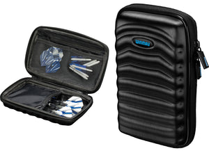 Winmau Tour Edition Dart Case - Holds 2 Full Sets - 5 Compartments - Black