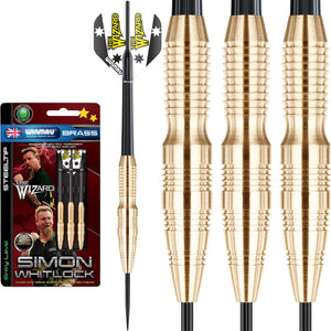 Winmau Simon Whitlock Brass Darts - 22g 24g
