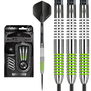 Winmau Ton Machine Green / White 80% Tungsten Darts - 21g 23g 25g 27g