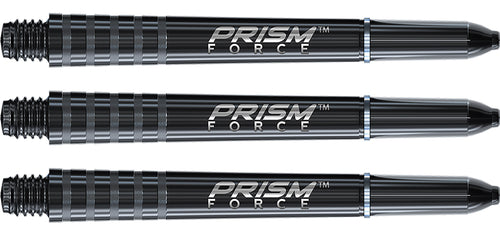 Winmau Prism Force Black Dart Shafts