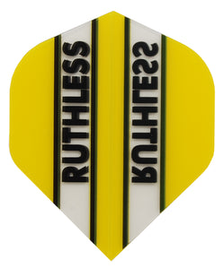 Clear Yellow Ruthless Dart Flights
