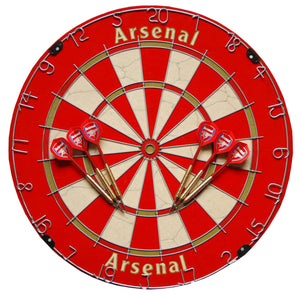 Official Arsenal FC Football Club Dartboard