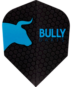 Bully Dart Flights - Aqua - 100 Micron - Standard Shape