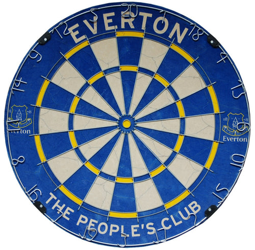 Official Everton FC Football Club Dartboard