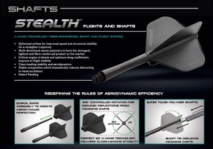 Winmau Stealth Shafts - Medium / Intermediate / Short