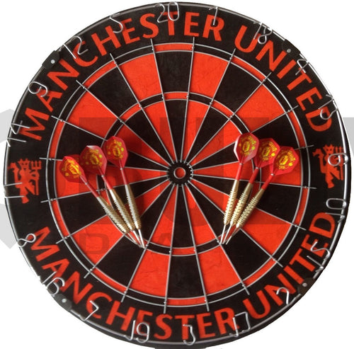 Official Manchester United Football Club Dartboard
