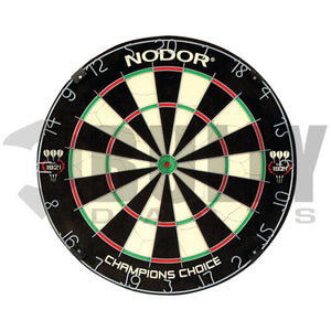 Nodor Mini Bull Champions Choice Practice Dartboard - Steel Tip - Trainer