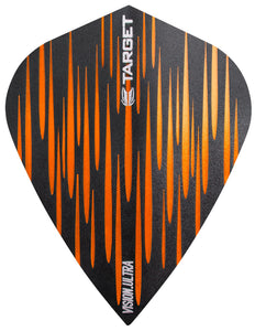 Target Spectrum Vision Ultra Orange Kite Dart Flights