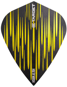 Target Spectrum Vision Ultra Yellow Kite Dart Flights