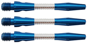 Two Tone Blue Razor Dart Shafts