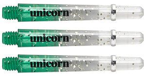 Unicorn Gripper 4 Elements Two Tone Dart Shafts - Green