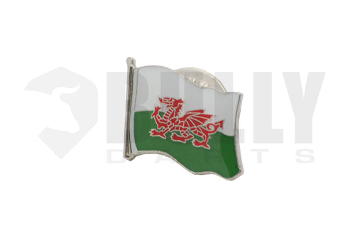 Wales Flag Dart Badge