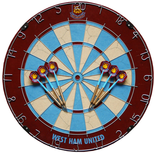 Official West Ham United Football Club Dartboard
