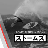 Sharp Eye Storms Surfboard-Sharp Eye Storms Surfboard-Green Overhead