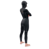 Dakine Womens Cyclone Zip Free Hooded Wetsuit - Black