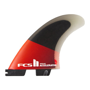FCS II Accelerator PC Red / Black Tri Set - Medium-FCS II Accelerator PC Red / Black Tri Set - Medium-Green Overhead