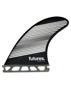 Futures F6 Legacy Series Honeycomb Tri Fin Set Medium - Grey / Black-Futures F6 Legacy Series Honeycomb Tri Fin Set Medium - Grey / Black-Green Overhead