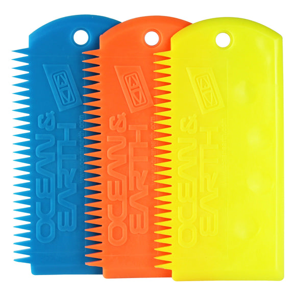Ocean & Earth Flex Wax Comb-Green Overhead