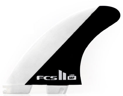 FCS II MF PC Black / White Tri Set - Large-FCS II MF PC Black / White Tri Set - Large-Green Overhead