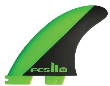 FCS II MF PC Green / Black Tri Set - Large-FCS II MF PC Green / Black Tri Set - Large-Green Overhead