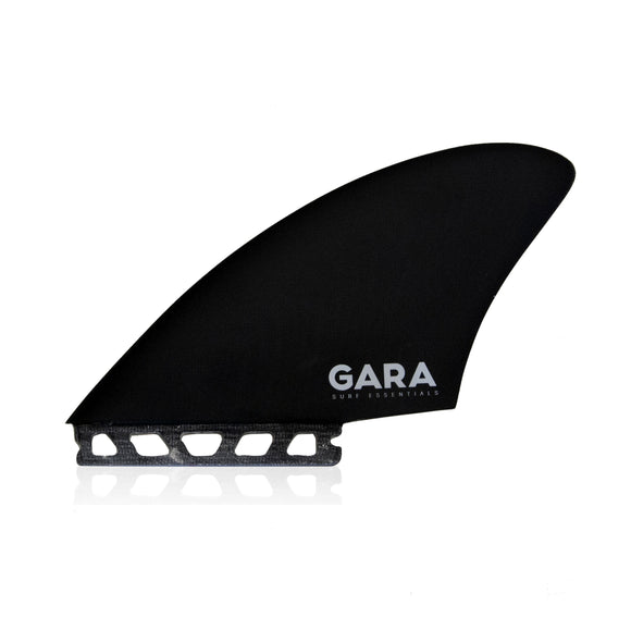 Gara Single Tab Twin Keel Fin Set - Extra Large-Gara Single Tab Twin Keel Fin Set - Extra Large-Green Overhead