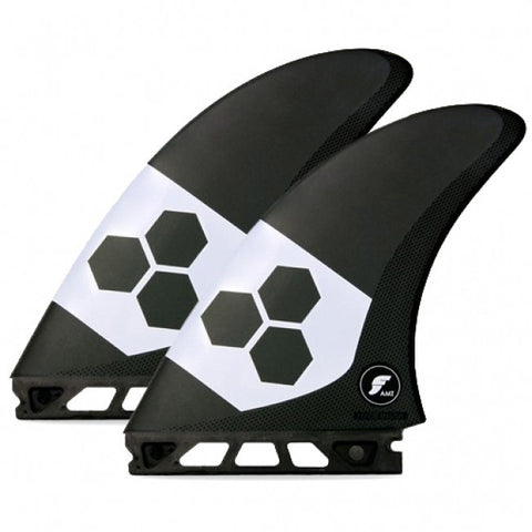 Futures AMT Alpha Twin Fin Set Large - Black-Futures AMT Alpha Twin Fin Set Large - Black-Green Overhead