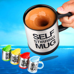 Lazy Self-Stirring Mug - TopTier Shop Unique Fun Trending Gifts Hot Items Shopping Home