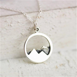 Mountain Necklate - TopTier Shop Unique Fun Trending Gifts Hot Items Shopping Best products to sell on Black Friday 2017